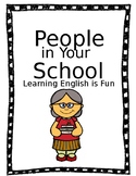 School Workers and Their Tools-ESL