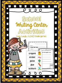 School Writing Center Activities