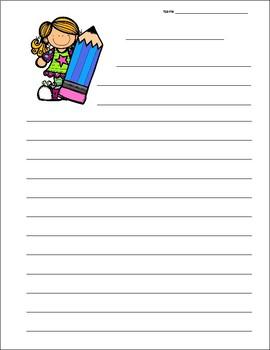School Writing Templates
