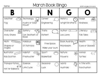 School Year Book Bingo