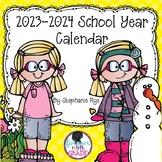 School Year Calendar 2017-2018