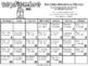 School Year Calendar - Spanish (calendario del año escolar)