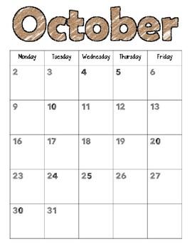 School Year Calendars 2017-2018   FREE UPDATES EVERY SCHOOL YEAR!