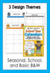Editable School Year Calendars 2018 - 2019 (Newly Updated!)