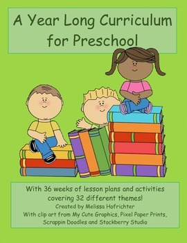 Preschool Curriculum bundle