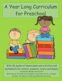 Preschool Curriculum Bundle plus Worksheets