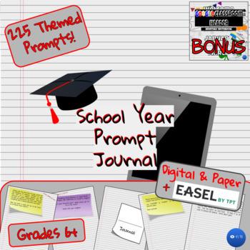 School Year Daily Writing Journal (6-12)