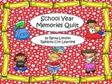 School Year Memories Quilt