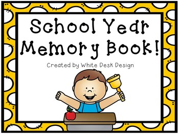 School Year Memory Book