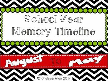 School Year Memory Timeline