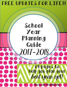 School Year Planning / Summer Planning Guide