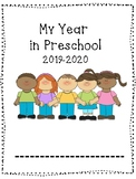 Preschool Back to School; Monthly Portfolio