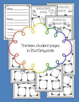 School Year Scrapbook Portfolio