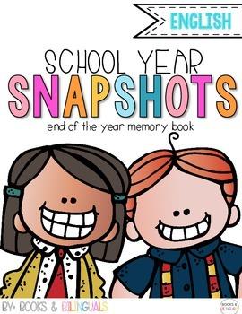 Snapshots End of Year Memory Book {English}