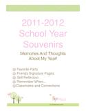 School Year Souvenirs Autograph Book