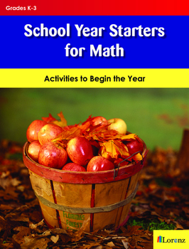 School Year Starters for Math