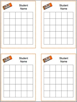 School Year Sticker Charts