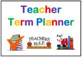 School Year / Term Planner