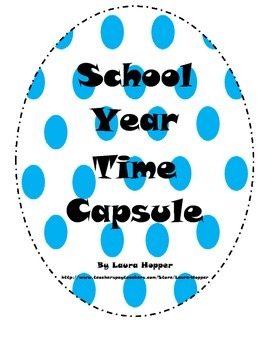 First Day School Year Time Capsule