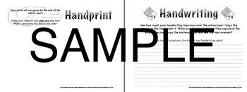 Back to School- School Year Time Capsule Printable Packet (Elementary)