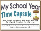 Back to School- School Year Time Capsule Printable Packet