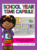 School Year Time Capsule Printables