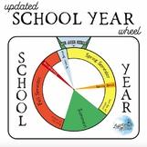 School Year Tracker, Calendar Wheel, Perpetual Calendar
