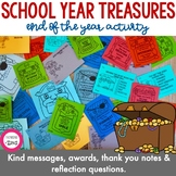 End of School Year Treasures Activity