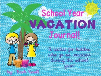 School Year Vacation packet!