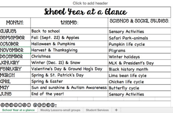 Special Education_School Year at a Glance
