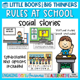 Classroom & Distance Learning Rules Social Stories-Little