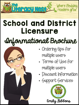 School and District Licensure Informational Brochure
