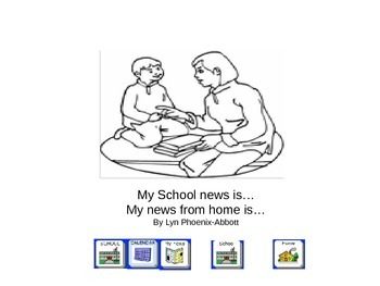 School and Home News Book