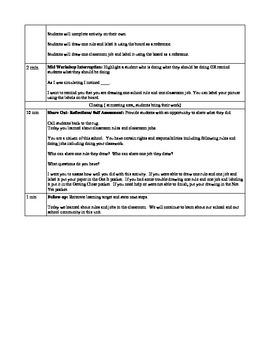 School and School Community Lesson Plan Lesson 1 Read Aloud