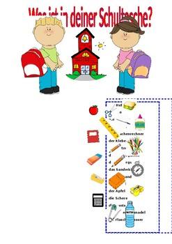School bag / School equipment