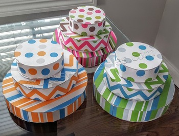 School birthday tiered cake paper craftivity and FREE colo