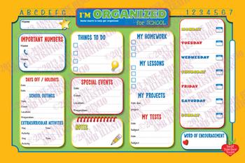 Organizer, KIDS ORGANIZER for SCHOOL