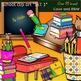 School clip art set -Color and B&W- 100 items