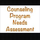 School counseling program student needs assessment [Beginn