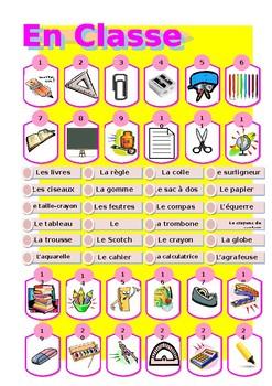 School equipment / Classroom Equipment