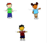 School friends Clipart