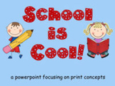 School is Cool! Counting Words PowerPoint Show