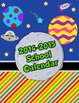 School is Out of This World!  2-page 2013/2014 Calendar fo
