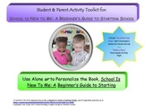 FREE Student & Parent Activity Toolkit for SCHOOL IS NEW T