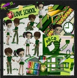 School kids Graphic Collection