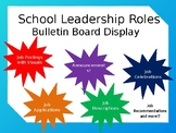 School leadership Roles (Editable)