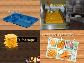 School lunch A la cantine Restauration Scolaire