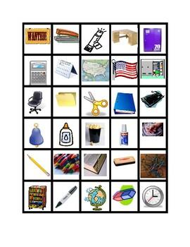 School Objects Slap Game