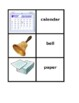 School objects in English Concentration games