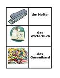 Schulsachen German Concentration games